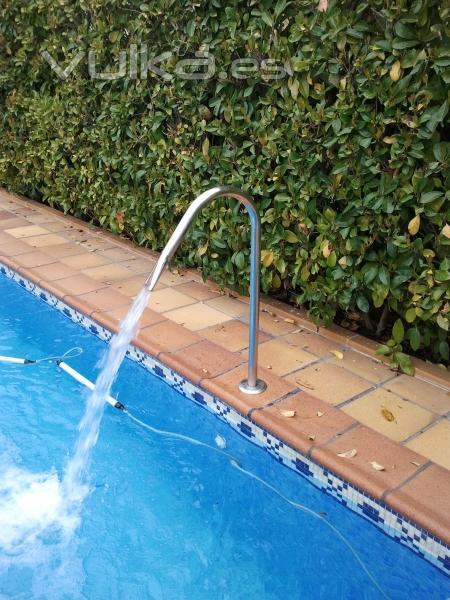 foto chorros de agua para piscinas