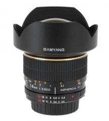 Objetivo Samyang 14mm