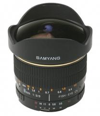Objetivo Samyang 8mm