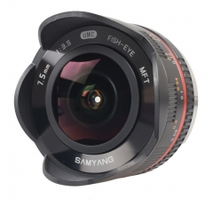Objetivo Samyang 7.5mm