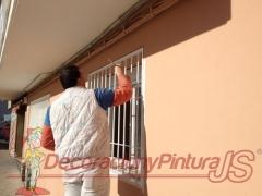 Pintura de fachadas en leganes