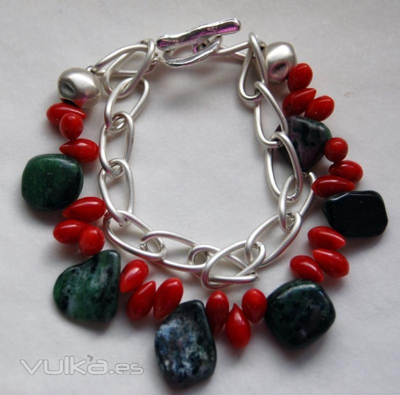 Foto pulseras piedras naturales y dise o totalmente for Piedras naturales