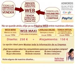 Castellón - 400 euros€ DISEÑO WEB TOTALMENTE PERSONALIZADA con DOMINIO, HOSTING Y EMAILS