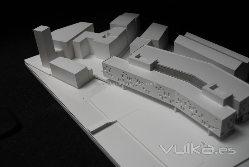 Alarco maquetas for Proyectos arquitectura