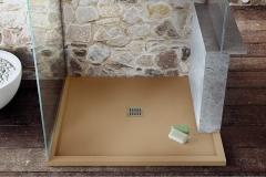 Plato de ducha fiora silex modelo enmarcado a medida