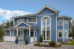 Construcción casas americanas. más información en http://www.fabricadecasas.es/casas-americanas.html