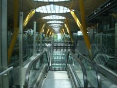 Arteko metal obra realizada t-4 aeropuerto de madrid