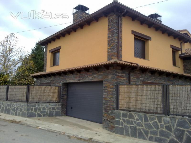 Piedra de pizarra para fachadas
