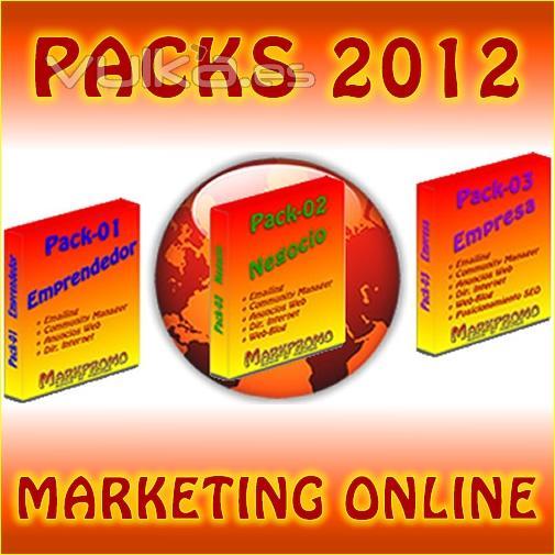 Nuevos Packs 2012 de Marketing Online
