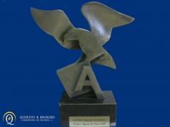 Quirino & brokers - premio aguila de aegon seguros al mejor productor de empresas.