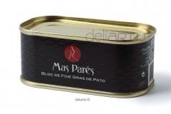 Bloc de foie gras natural de pato mas par�s 100 gr.