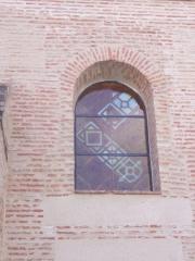Balneario villa de olmedo / vidrieras de resina