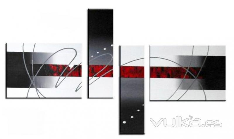 Abricer - Decoracion blanco negro rojo ...
