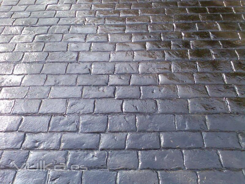 Pavimento de hormigon impreso for Hormigon para pavimentos