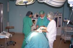 Nte tratado en quirofano bajo anestesia general
