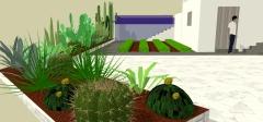 Botanic cullera - proyecto jardin unifamiliar montserrat (valencia)