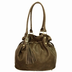 Bolso mujer taupe