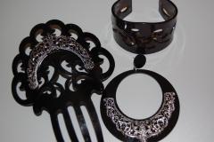 Conjunto de flamenca negro por menos de 12eur