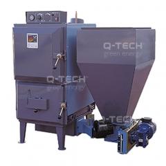 Caldera biomasa cmd calefaccion y agua caliente