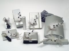 Obsequios de boda cromatica colecci�n pluma argento
