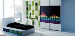 Dormitorio juvenil c127 del catálogo lagrama avatar pro zona joven