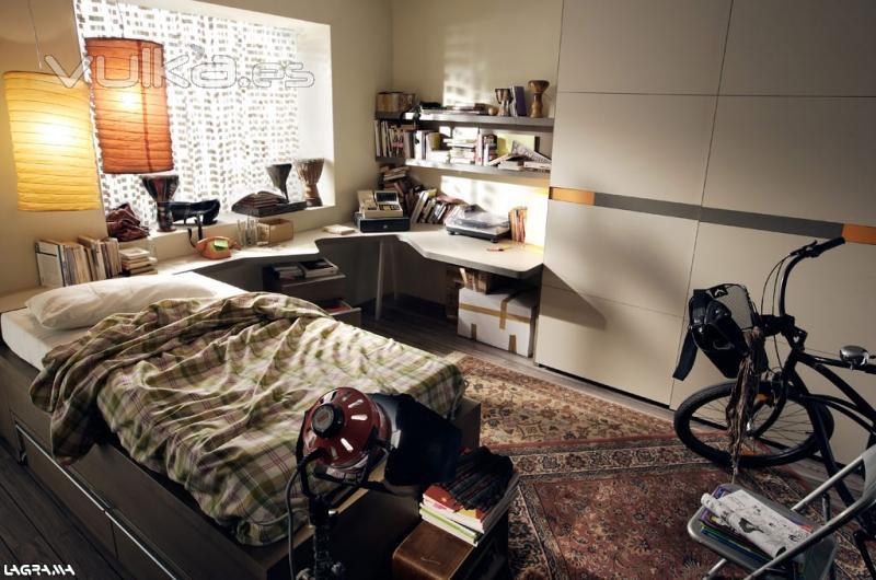 Dormitorio Gamer ~ Foto Dormitorio juvenil C109 del catálogo Lagrama Avatar pro Zona joven