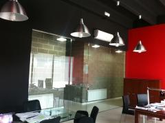 Cerramientos en oficinas