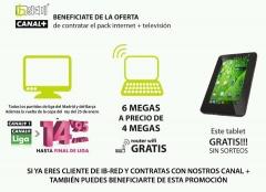 Ib-red internet + televisi�n satelite
