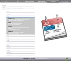 Vista previa del nuevo diseño de www.aparejadorenleon.com