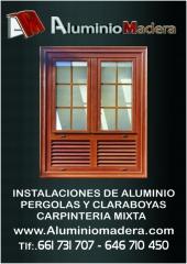Carpinteria rustica. (aluminiomadera.com)