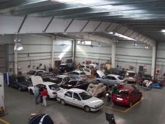 Vista general del taller de chapa