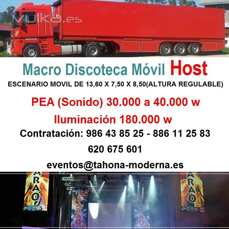 Macro Discoteca M�vil Host