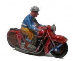 Colecciolandia.com juguetes de hojalata motos