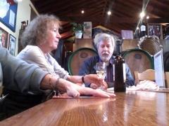 Visita de alemanes, casa del vino, sala de degustaci�n.
