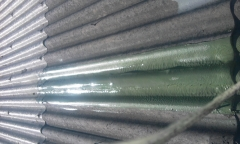 reparacion de cubierta de uralita con poliurea ALC200