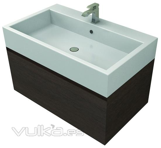 Mueble Baño Elegante:Mueble Matt&Co de 95 cm elegante y practico En oferta en Linea Baño