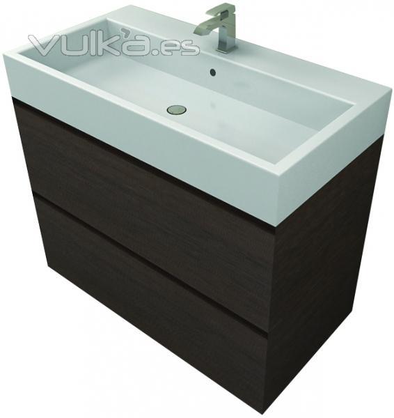 Muebles De Baño Karol:mueble de baño de 90 cm Matt & Co elegante y minimal