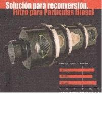 Limpieza de filtros ceramicos de particulas