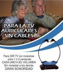 Auriculares tv