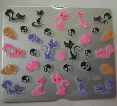 Sticker nailart . dise�os variados