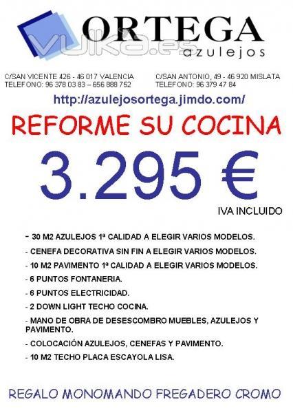 foto presupuesto reforma cocina 2 azulejos ortega