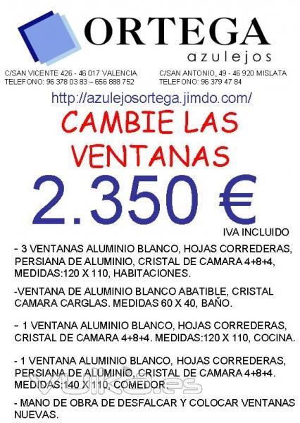 Jose ortega robles azulejos ortega mislata valencia - Presupuesto cambio ventanas ...