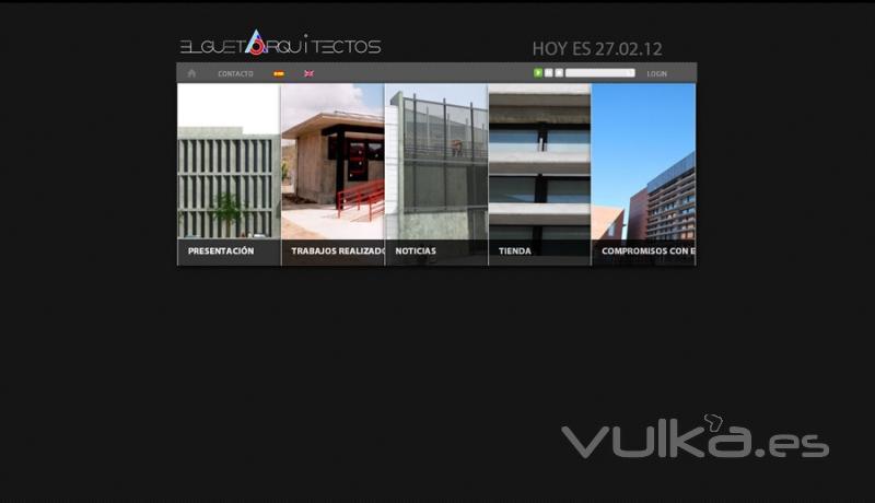 pgina web de elgueta arquitectos