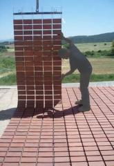 Pavimentaci�n de jardines. revolucionario sistema revestimiento cer�mico