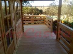Gran porche de la casa ASTI