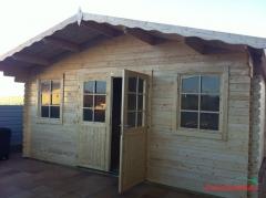 Caseta de jardin NIKa - 5x4 metros