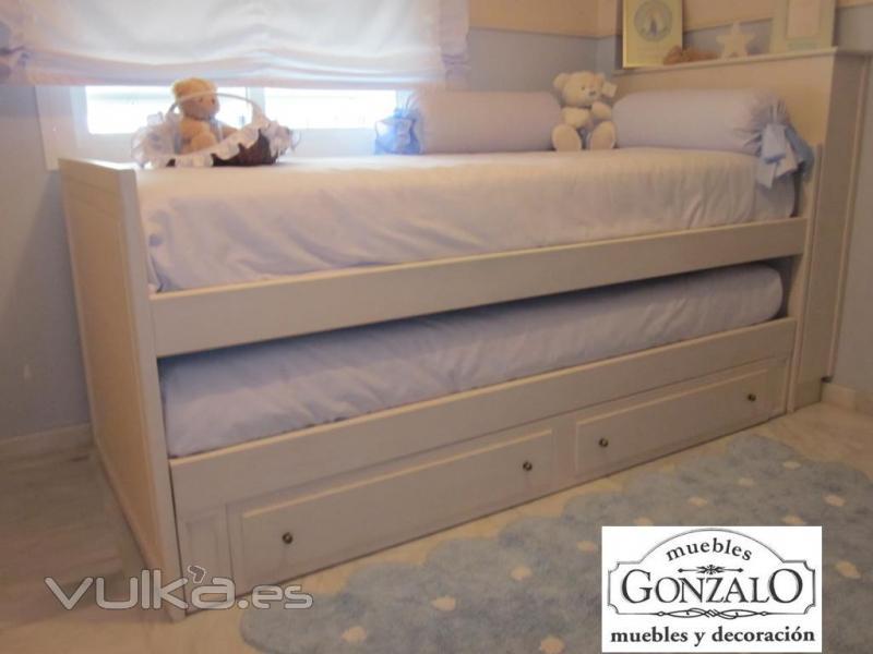 Muebles gonzalo muebles a medida for Medidas de cama nido con cajones