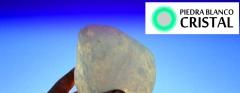 Piedra blanco cristal