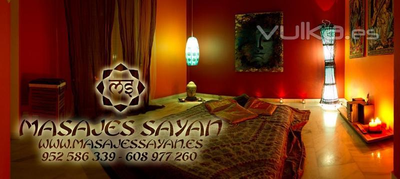 relajante sala de masaje voyeur en Alicante