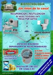 Estaciones biol�gicas depuradoras de aguas residuales at6-at250,